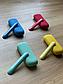 Силиконовый чехол Синий + боковая панель для Iqos 3/ Iqos 3 Duo. Чехол и боковая панель для айкос 3 дуо, фото 5