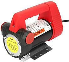 Помповый насос REWOLT для перекачки дизеля 24в 50л/мин RE SL001-24V