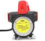 Помповый насос REWOLT для перекачки дизеля 24в 50л/мин RE SL001-24V, фото 4