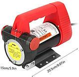 Помповый насос REWOLT для перекачки дизеля 24в 50л/мин RE SL001-24V, фото 7