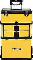 Ящик  для  инструментов  VOREL  3  секции  57х37х84.5  см,  ручка  58х98  см  (78738)
