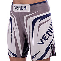 Шорты для боевых искусств VENUM серые VN-0010, M, фото 1