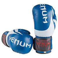 Боксерские перчатки Venum DX синие 12 унций VM2145-12B, фото 1