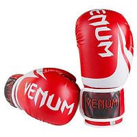 Перчатки для бокса Venum DX красные 10 унций VM2145-10R, фото 1