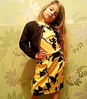 Детское платье с болеро для девочки подростка 134-152 рост, фото 1