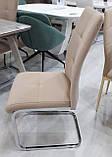 М'який стілець S-119 капучіно вельвет Vetro Mebel (безкоштовна доставка), фото 6