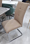 М'який стілець S-119 капучіно вельвет Vetro Mebel (безкоштовна доставка), фото 2