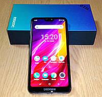 Смартфон Doogee N10 3/32Gb Purple, 2280x1080, 16МП + 13МП, 2G/3G/4G LTE + силиконовый чехол, б/у