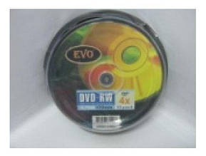 Evo DVD-RW 4,7Gb 120min 4x (cake 10) (10/420)