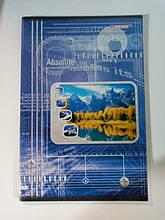 Тетрадь для конспектов 96 листов А4 блок офсетная бумага линия обложка полноцветная мелованный картон