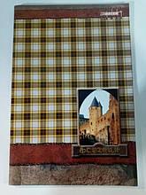 Тетрадь для конспектов 96 листов А4 блок  газетная бумага линия обложка полноцветная мелованный картон