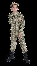 Военная форма для детей кадетов ARMY KIDS Киборг камуфляж ММ14 оригинал взрослой формы Украины, фото 2