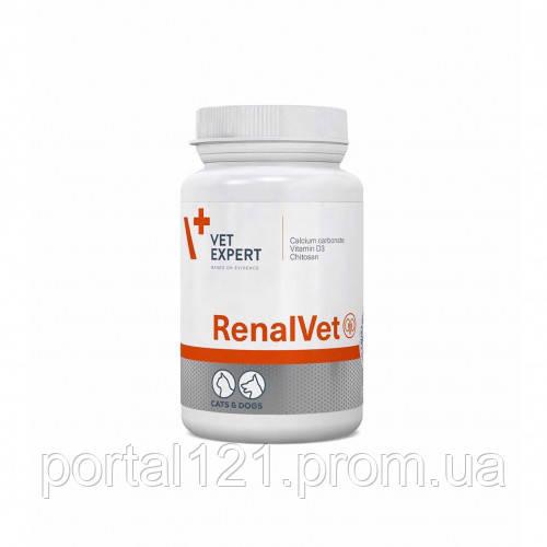 RenalVet для собак и кошек с почечной недостаточностью, 60 капсул
