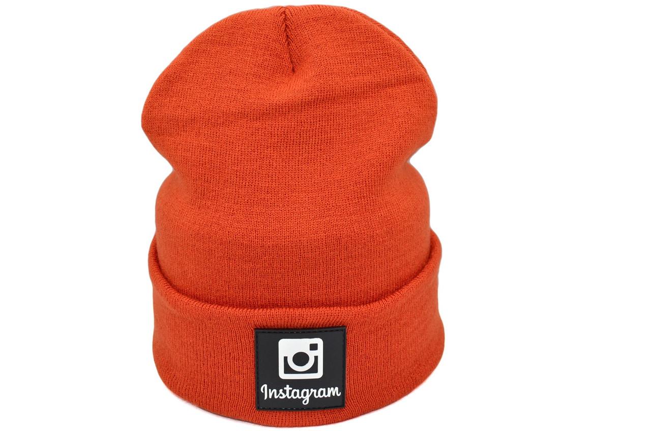Шапка Hip Hop Shop Instagram 55-59 см терракот (H-08118-287)