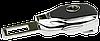 Заглушка - переходник ремня безопасности  с логотипом OPEL VIP КЛАССА (Авиационная сталь, кожа), фото 3