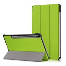 Чехол Galaxy Tab S7 Sm-T870 T875 3-Fold Green