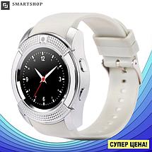 Умные часы Smart Watch V8 сенсорные - смарт часы Белые, фото 3
