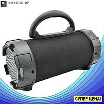 Портативная bluetooth колонка SPS F18 Super Bass с фонариком, Черная, фото 3