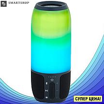 Портативная колонка JBL Pulse 3 Big - bluetooth колонка cо светомузыкой, FM радио, MP3 плеер (реплика), фото 2