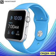 Умные часы Smart Watch Phone A1, смарт часы в стиле Apple Watch Голубые, фото 2