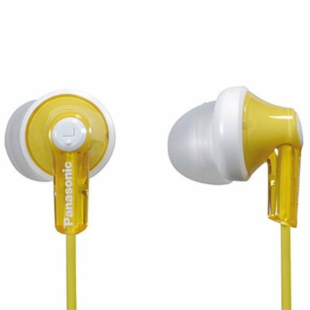 Навушники Panasonic RP-HJE118GU-Y Yellow
