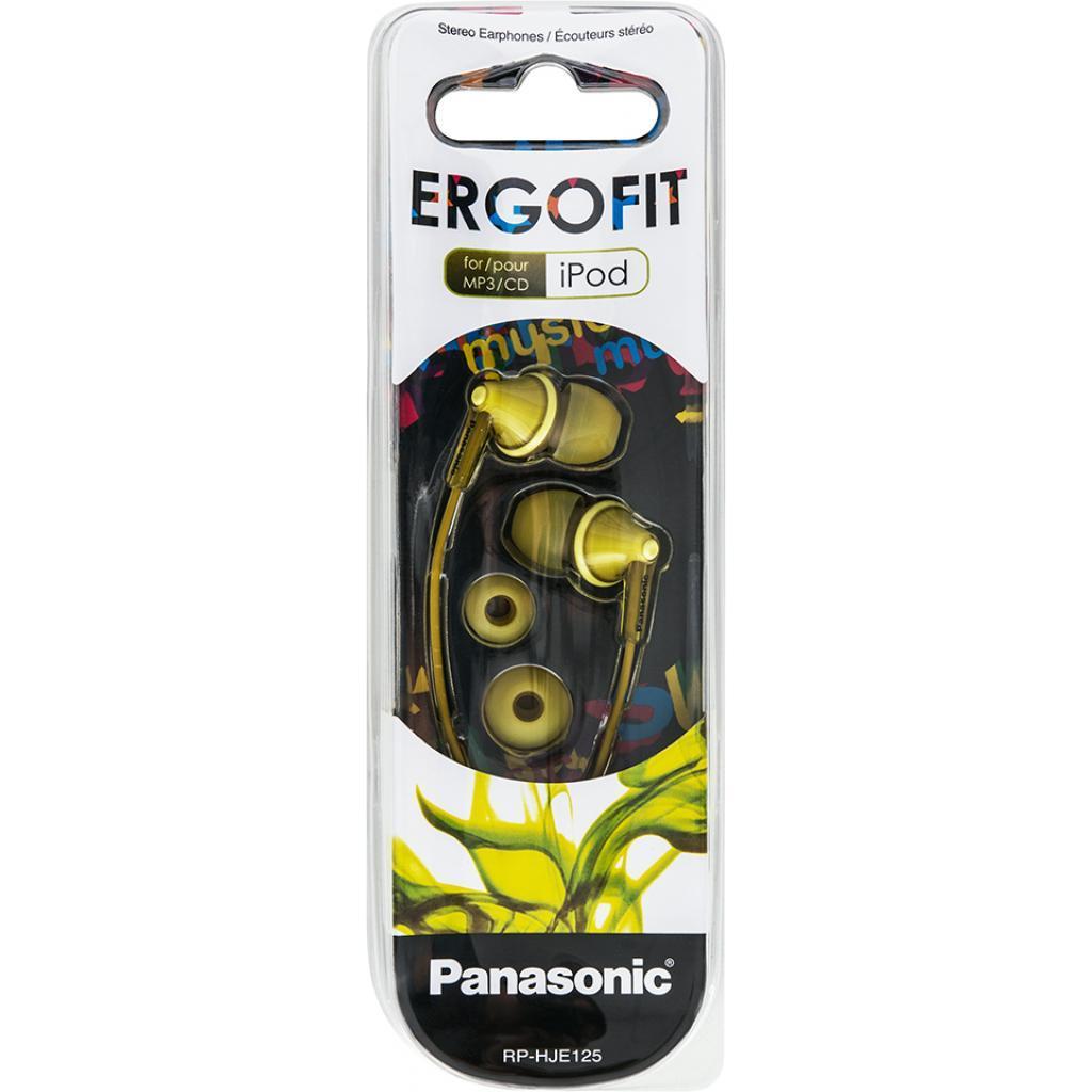 Навушники Panasonic RP-HJE125 Yellow