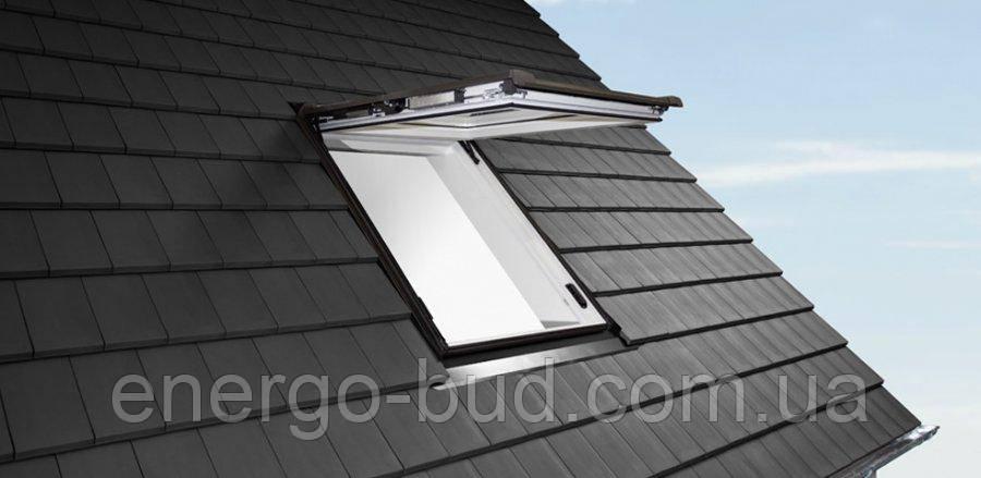 Вікно мансардне Designo WDC i89P K W WD AL 13/16 EF