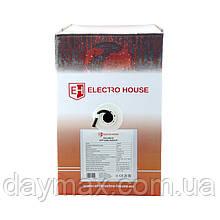ElectroHouse Кабель UTP 4х2х0, 51 Cu чорний (зовнішній монтаж, із сталевим дротом)