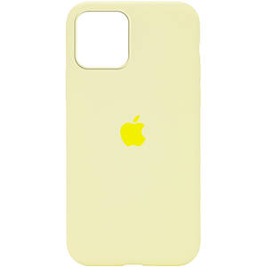 Чехол накладка xCase для iPhone 12 Mini Silicone Case Full mellow yellow