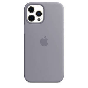 Чехол накладка xCase для iPhone 12 Pro Max Silicone Case Full lavender