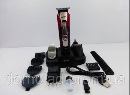 Машинка Триммер ProGemei GM 592 10 в 1 Бритва Для Стрижки Волос Бороды