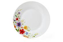 Десертная фарфоровая тарелка 19см Акварельные цветы BonaDi 970-212
