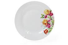 Десертная фарфоровая тарелка 19см Ирисы BonaDi 970-222