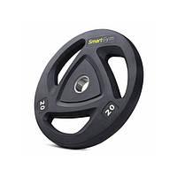 Набір дисків олімпійських Hop-Sport SmartGym 2x20 кг