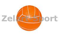 Мяч резиновый Волейбол BA-3006 (резина, вес-260г, р-р 22см (8,5in), оранжевый, малиновый, лимонный)