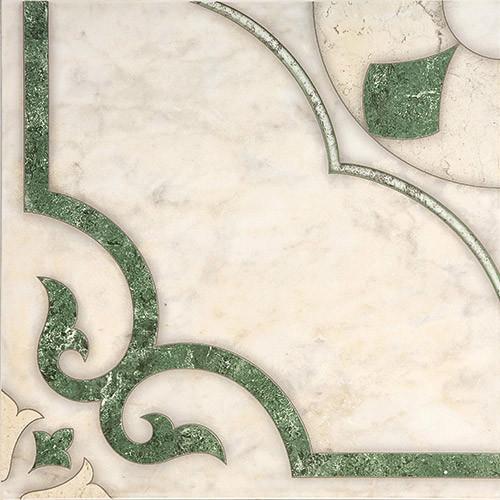 Плитка напольная Кастелло зеленая