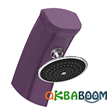 Солярный душ Happy 4x4 44л Цвет черный Formidra, Летний душ, Франция, фото 6