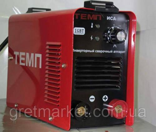 Сварочный инвертор Темп ИСА-250 (IGBT)(коробка)