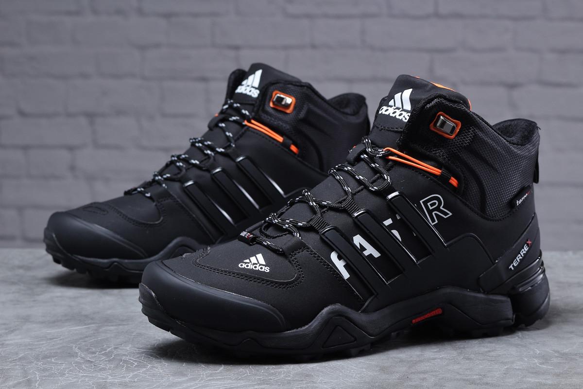 Зимние мужские кроссовки 31784, Adidas Terrex Gore Tex, черные, < 41 42 43 44 45 46 > р. 41-26,5см.