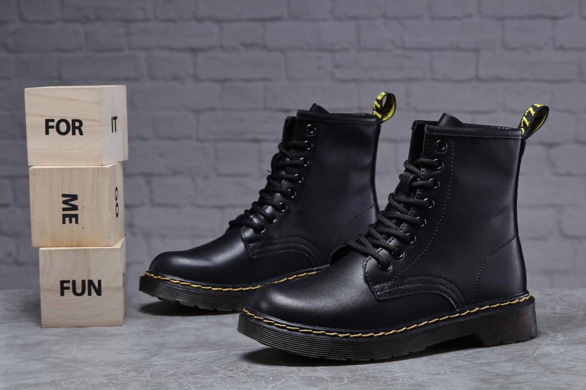 Зимние женские ботинки 31830, Dr.Martens, черные, < 36 37 38 39 40 41 > р. 36-23,0см.