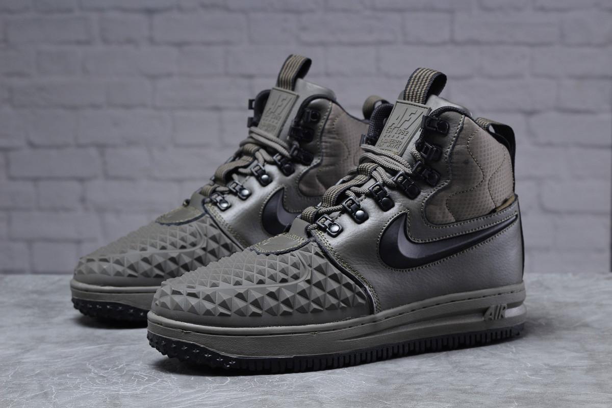 Зимние мужские ботинки 31832, Nike LF1 Duckboot (TOP AAA), хаки, < 41 42 43 44 45 > р. 41-26,4см.