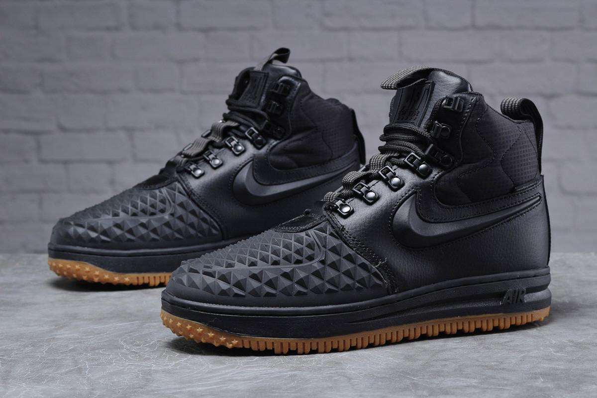 Зимние мужские ботинки 31833, Nike LF1 Duckboot (TOP AAA), черные, < 41 42 43 44 45 > р. 41-26,4см.