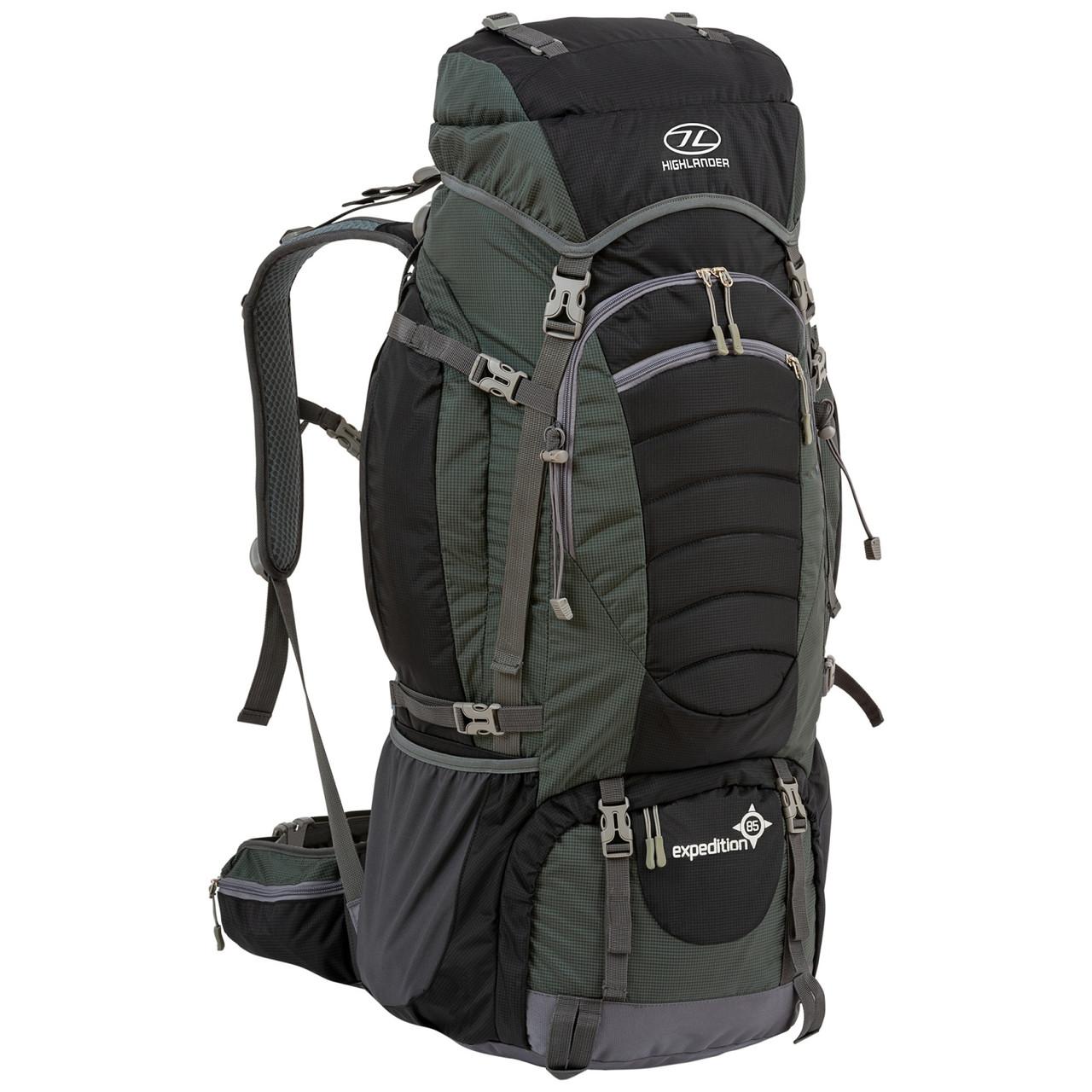 Рюкзак туристический Highlander Expedition 85 Black