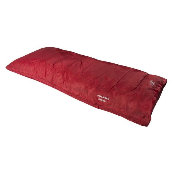 Спальный мешок Highlander Sleepline 250/+5°C Red (Left)