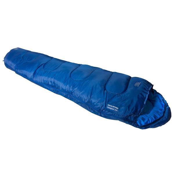 Спальный мешок Highlander Sleepline 350 Mummy/+3°C Deep Blue (Left)
