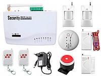 Интеллектуальная охранная GSM сигнализация Kerui G01 для двухкомнатной квартиры