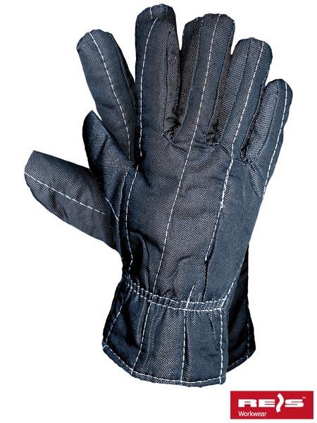 Защитные тиковые перчатки утепленные RDOBOA G
