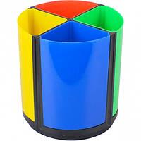 Стакан для ручок пл 4 відділ 468 кольор