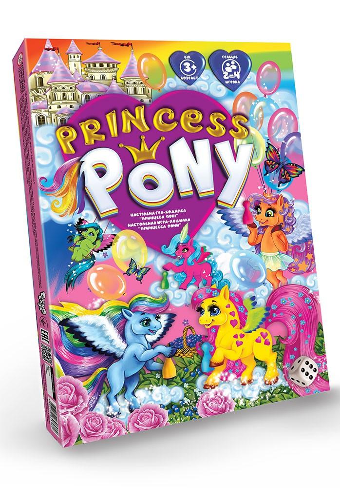 """Настільна розважальна гра Danko Toys """"Princess Pony"""" DTG96"""