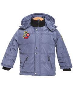 Красивая утепленная детская куртка для мальчика